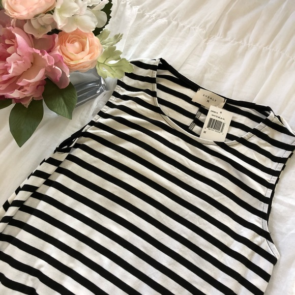 Everly Dresses & Skirts - NWT Everly black & white striped dress